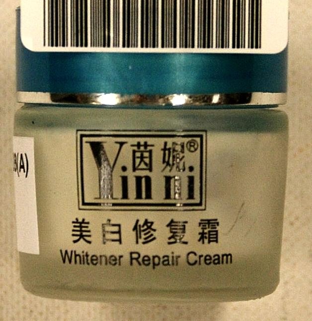 Creams Containing Mercury-Yunxi New skin whitening 4 in 1 Suit